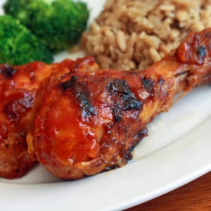 Sweet n' Tangy Barbecued Chicken
