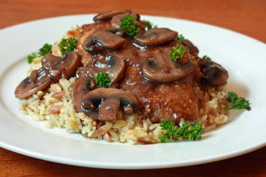 Chicken Marsala Recipe — Dishmaps