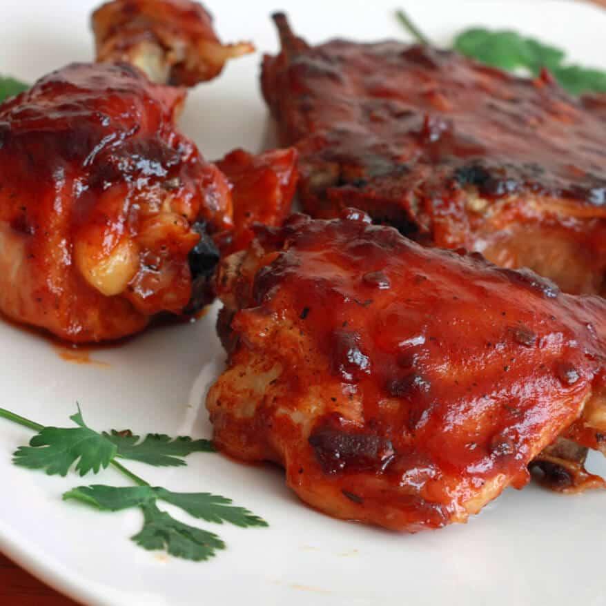 chipotle maple barbecue sauce pork chicken grilled recipe bbq barbecue
