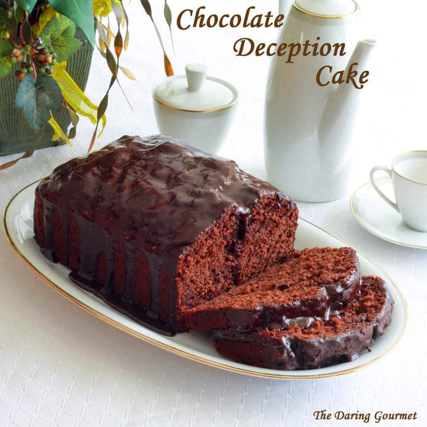 Chocolate Deception Cake Recipe The Daring Gourmet