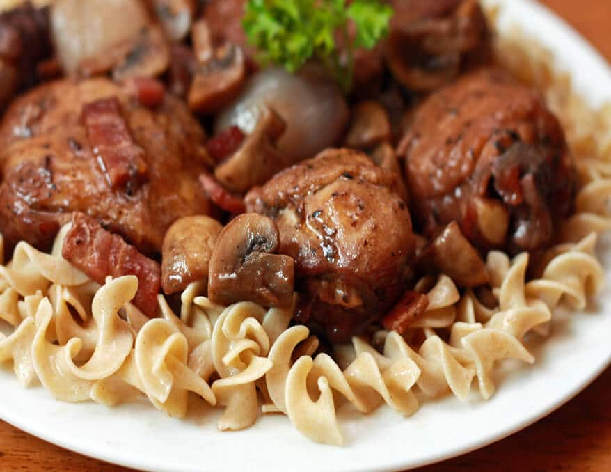 Coq au vin recipe the daring gourmet for All about french cuisine
