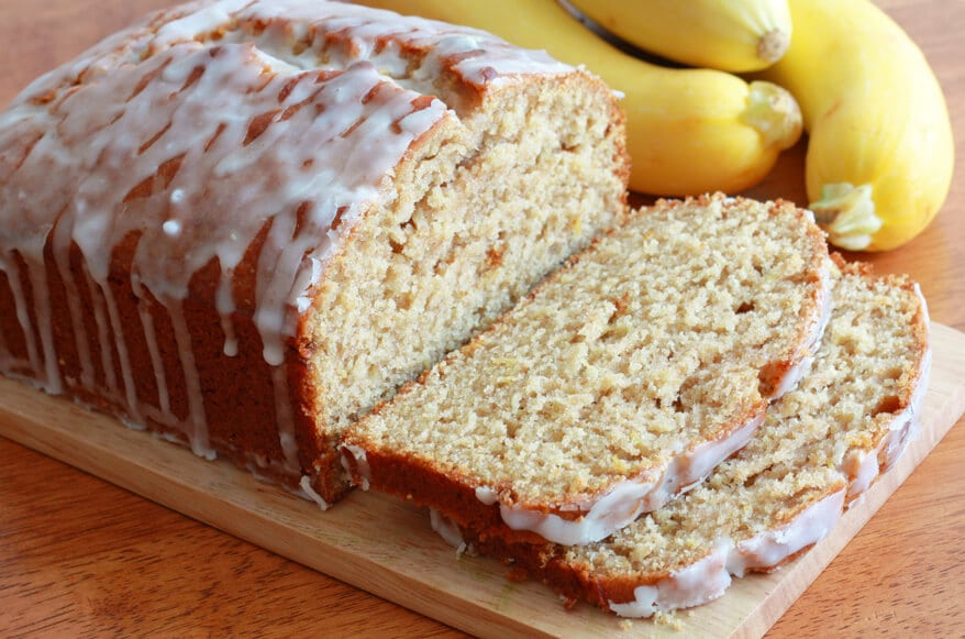 Lemon Zucchini Bread with Lemon Glaze Recipe