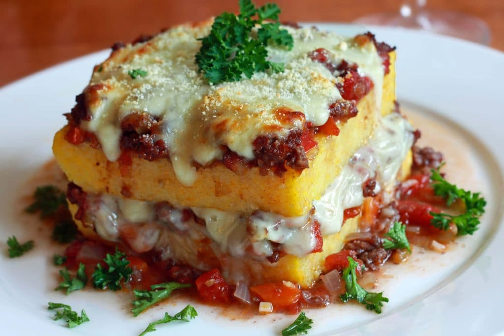 Polenta Lasagna Recipe - The Daring Gourmet
