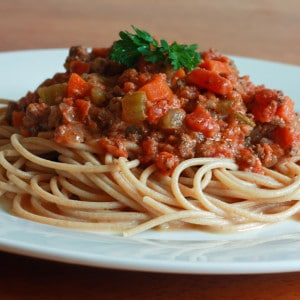 Spaghetti With Authentic Ragu di Carne
