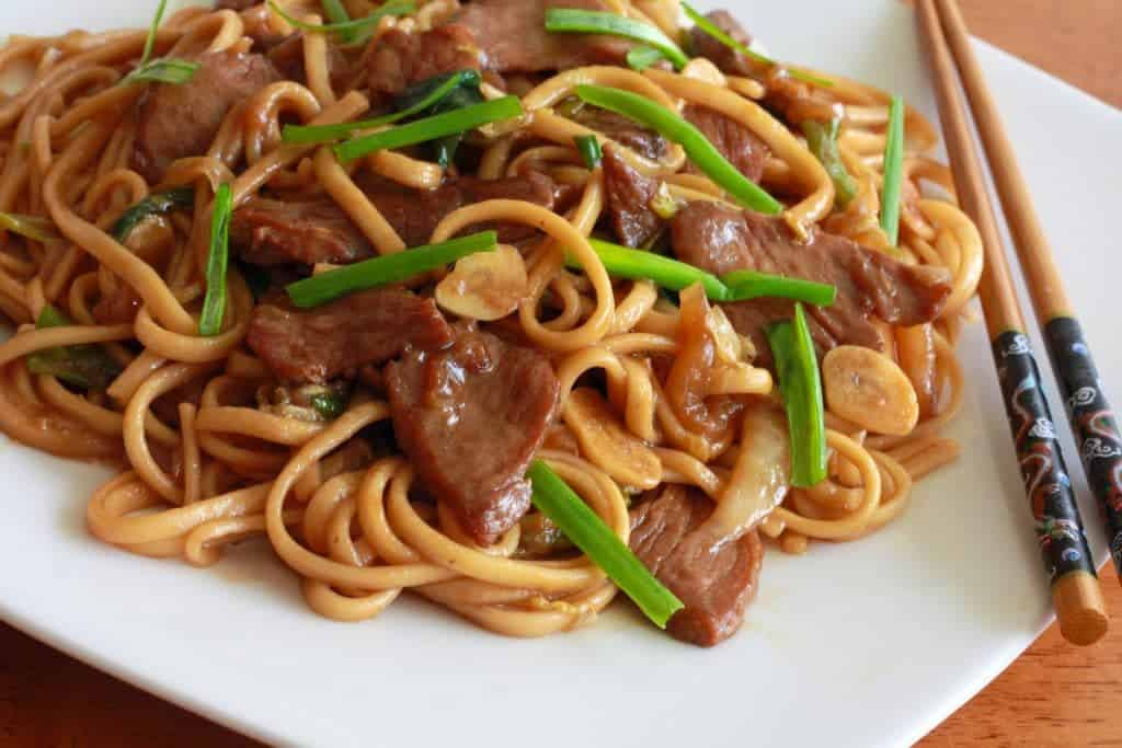 Shanghai Noodles Recipe - The Daring Gourmet