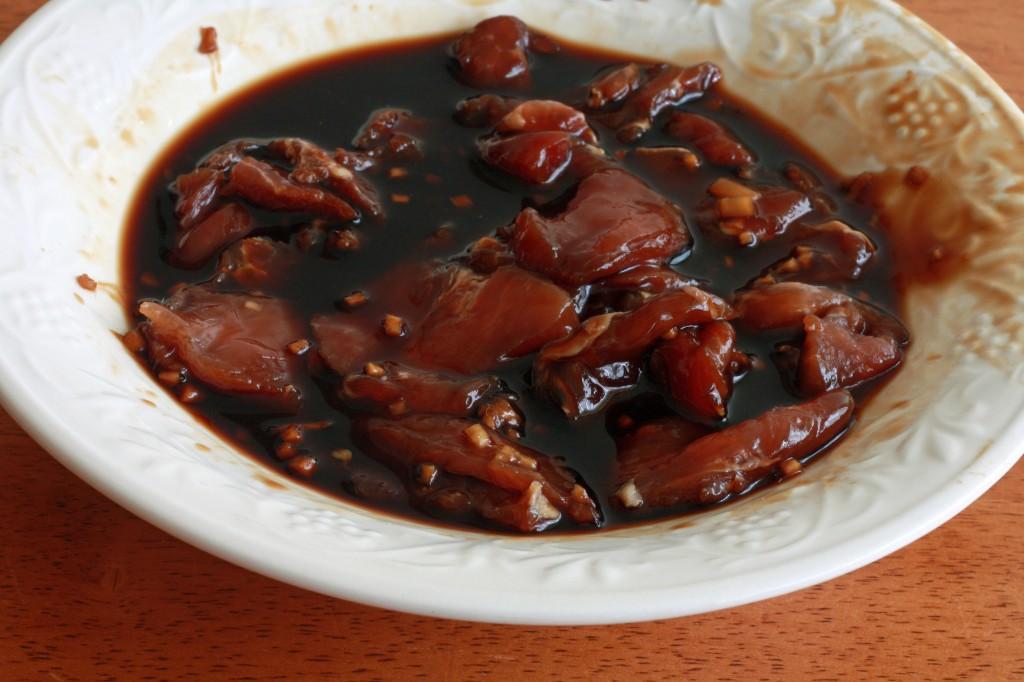 Shanghai Noodles prep 1