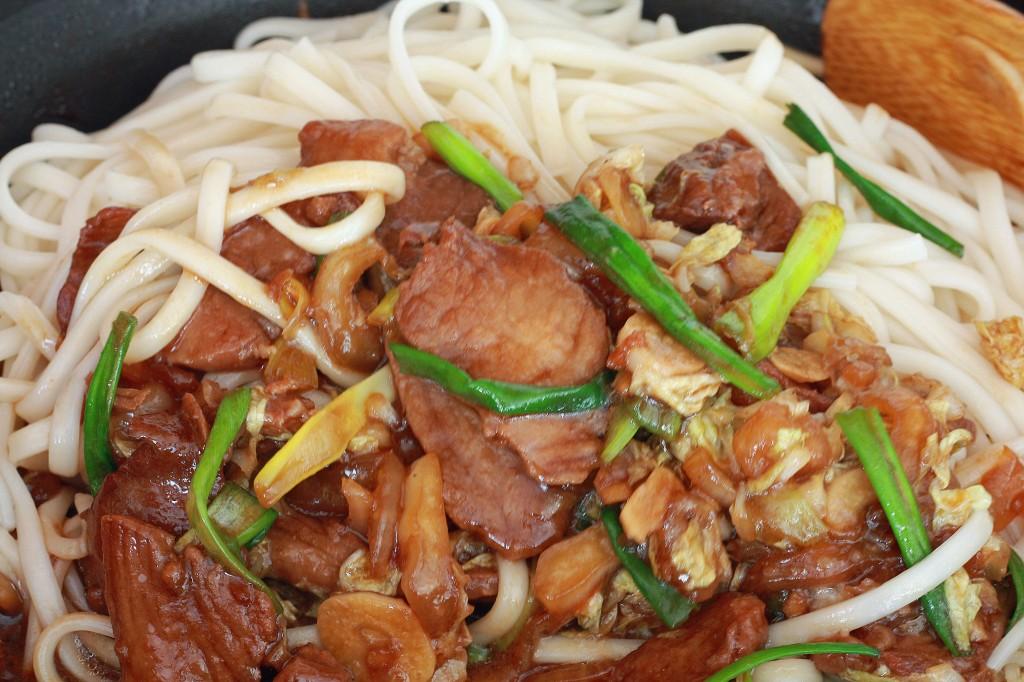 Shanghai Noodles prep 7