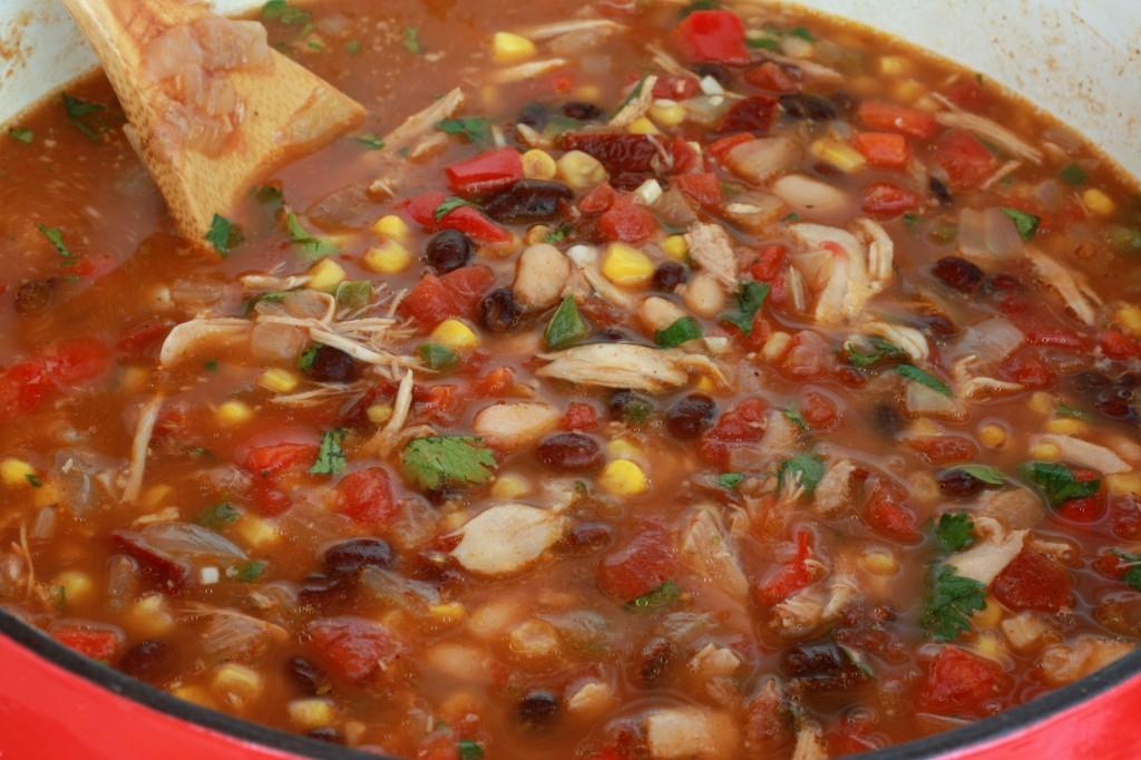 South of Border Soup prep 8