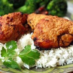 BEST Authentic Tandoori Chicken