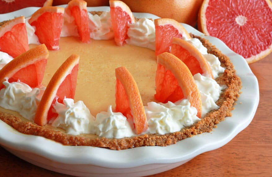 Grapefruit Cream Pie 1 sm
