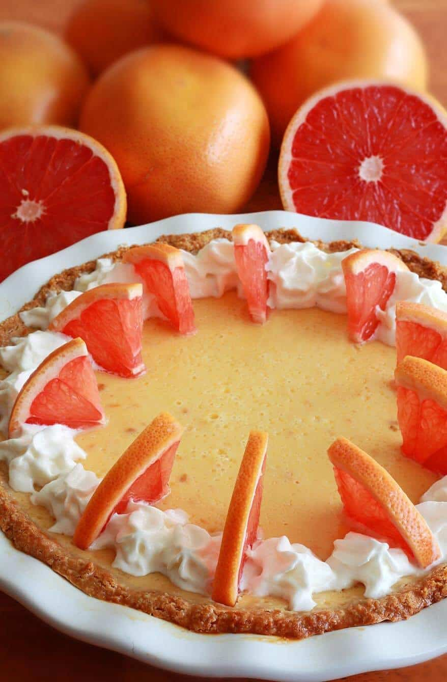Grapefruit Cream Pie 2 sm