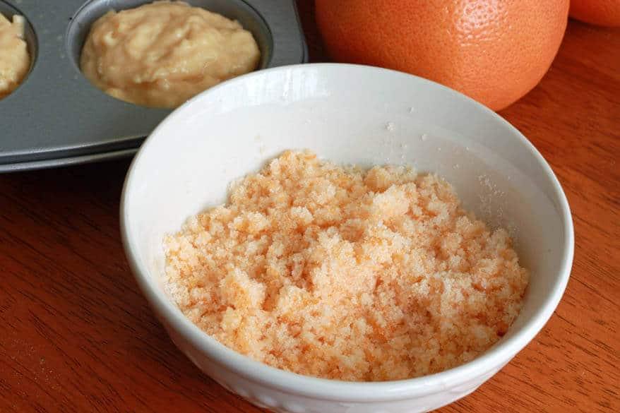 Grapefruit Muffins prep 14
