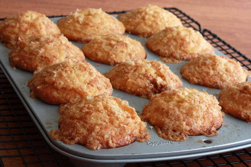 Grapefruit Muffins prep 17
