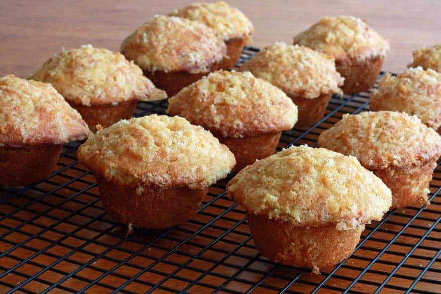 Pink Grapefruit Buttermilk Muffins