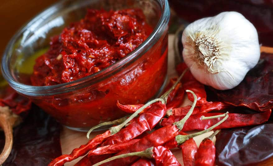 Harissa chile paste