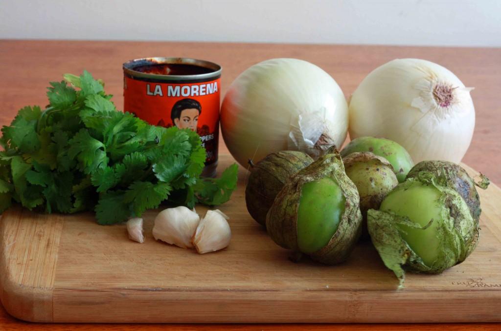 Mexican Meatballs prep 1