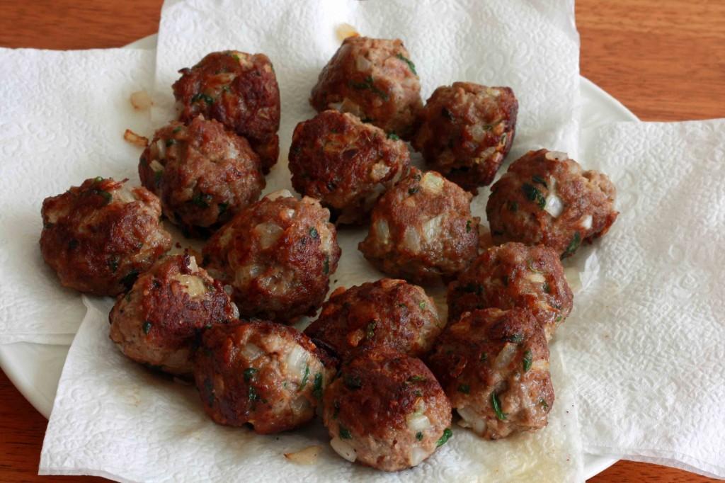 Mexican Meatballs prep 10