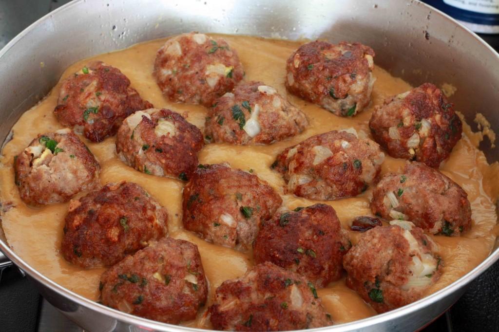 Mexican Meatballs prep 11