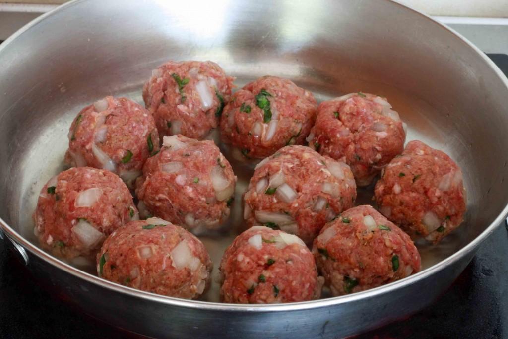 Mexican Meatballs prep 9