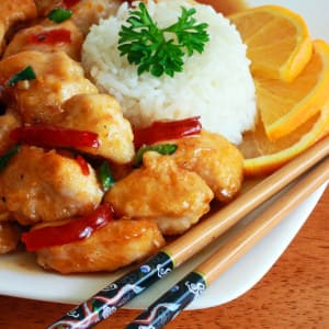 BEST Chinese Orange Chicken