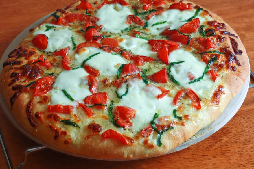 Pizza Margherita Recipe - The Daring Gourmet