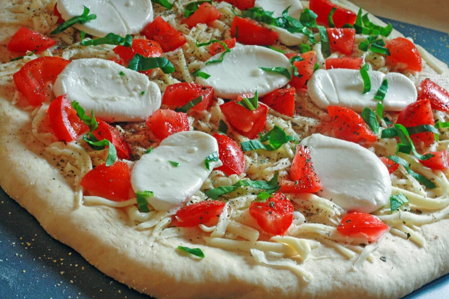 pizza margherita print make pizza like a pro in your own kitchen enjoy ...