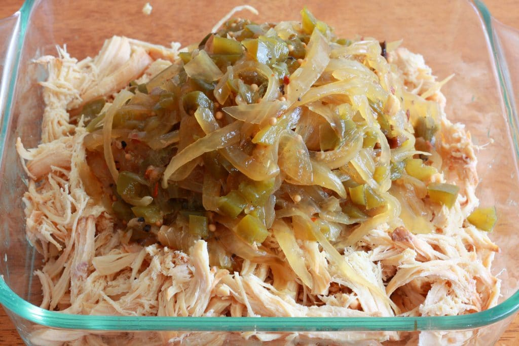 Pulled Chicken Sandwiches prep 5