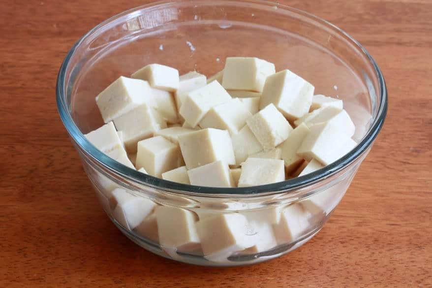 Thai Peanut Tofu prep 1