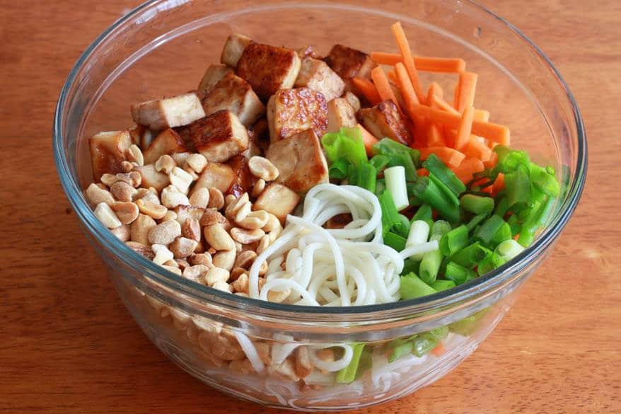 Thai Peanut Tofu prep 15