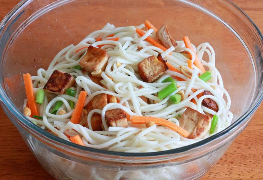 Thai Peanut Tofu prep 16