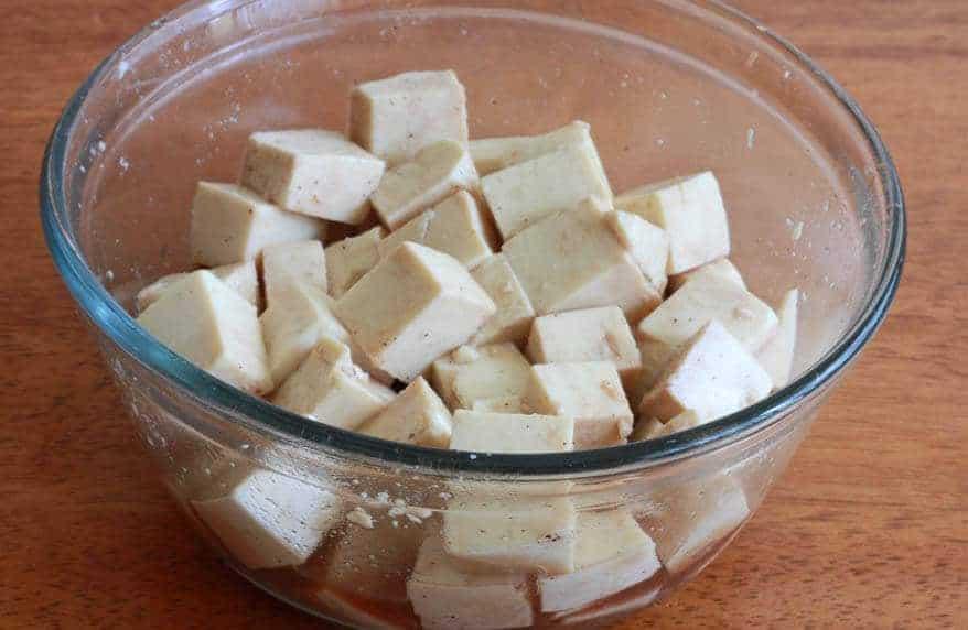 Thai Peanut Tofu prep 3