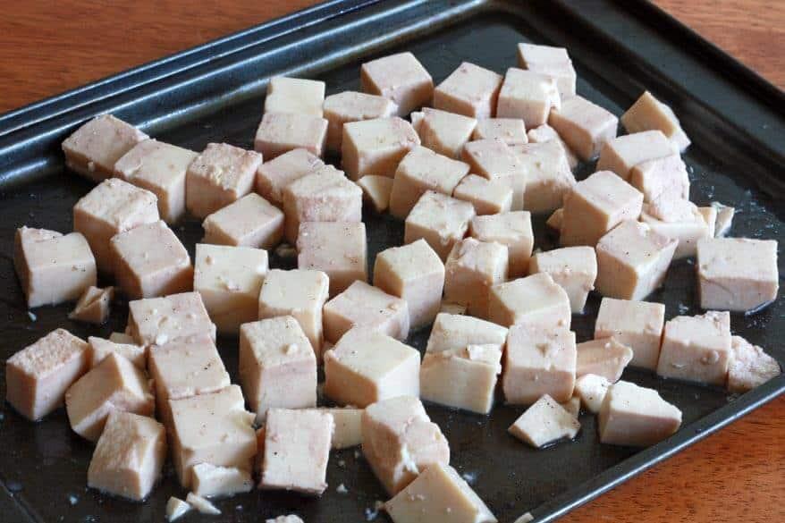 Thai Peanut Tofu prep 4