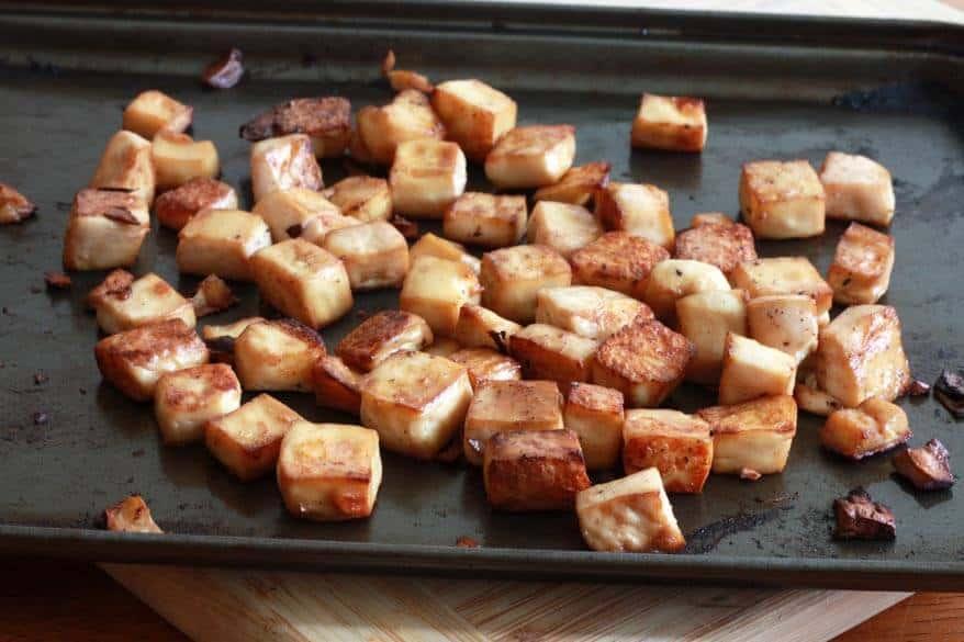 Thai Peanut Tofu prep 6