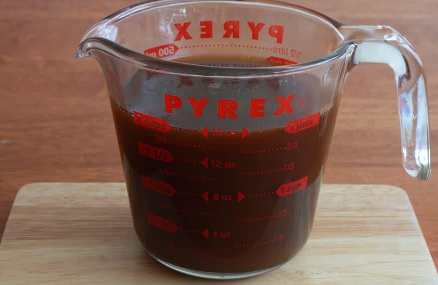 Caramel Orange Buttermilk Syrup prep 6