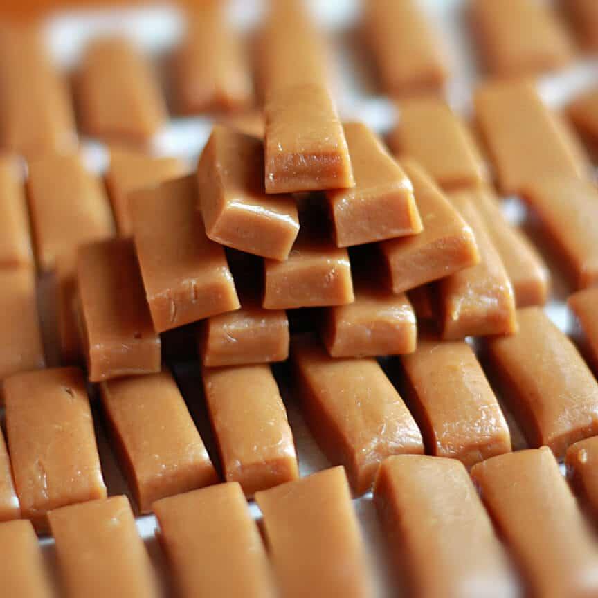 Caramel Candy Gold Bars Recipe The Daring Gourmet