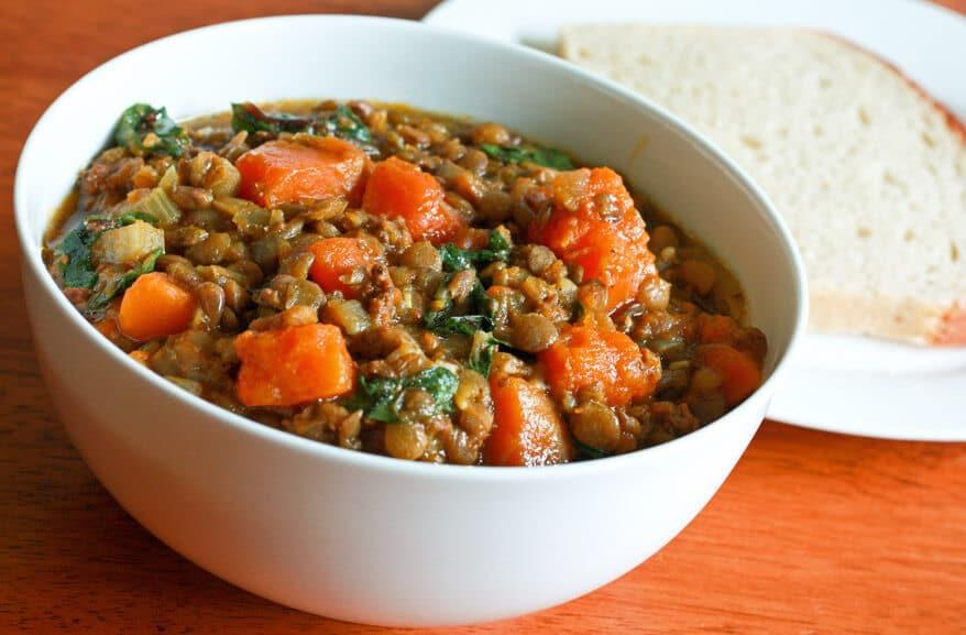 East West Lentil Stew