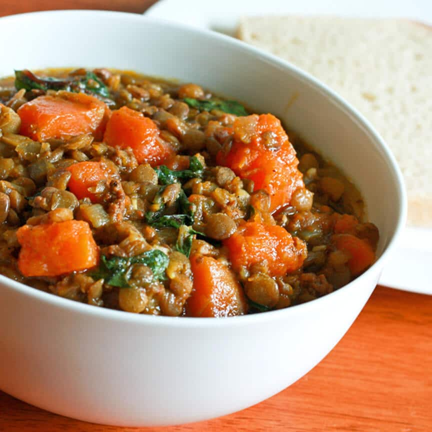 East west lentil stew recipe the daring gourmet for Andalusia cuisine
