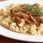 Hungarian Mushroom Pasta