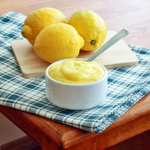 Creamy Homemade Lemon Curd