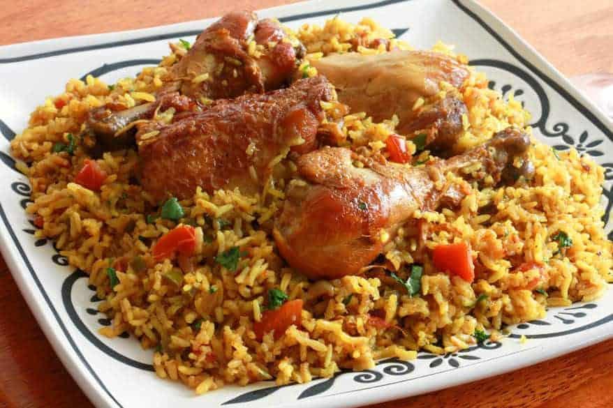 Chicken machboos bahraini chicken rice the daring gourmet forumfinder Gallery