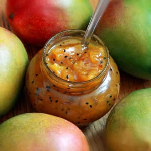 Indian mango chutney recipe homemade best authentic real