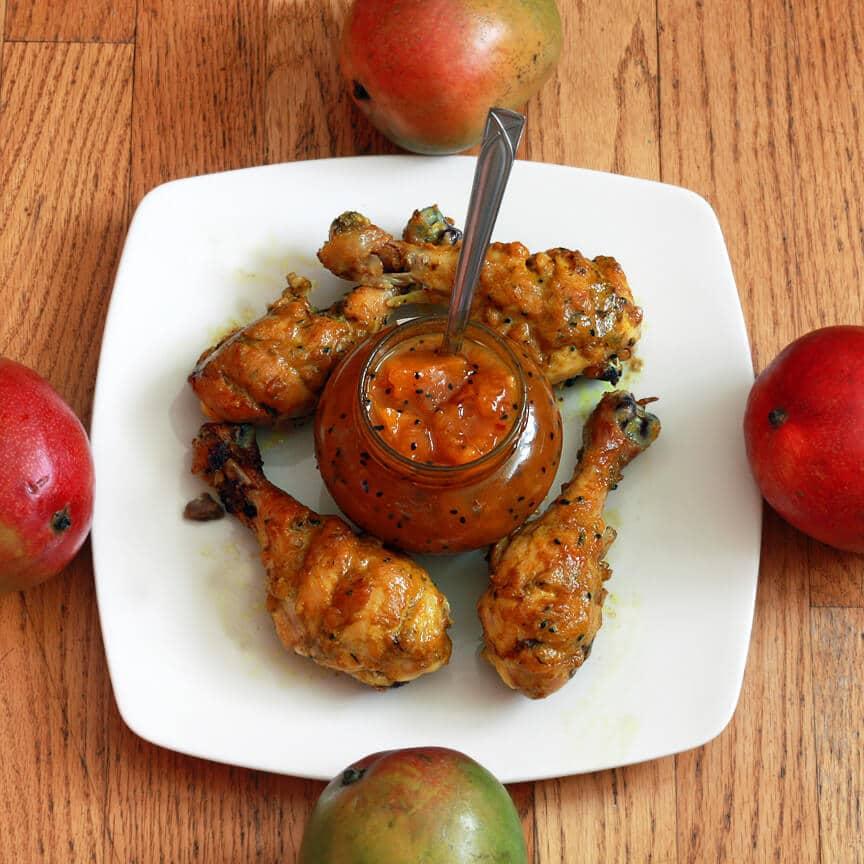 Mango Chutney Chicken Recipe - The Daring Gourmet