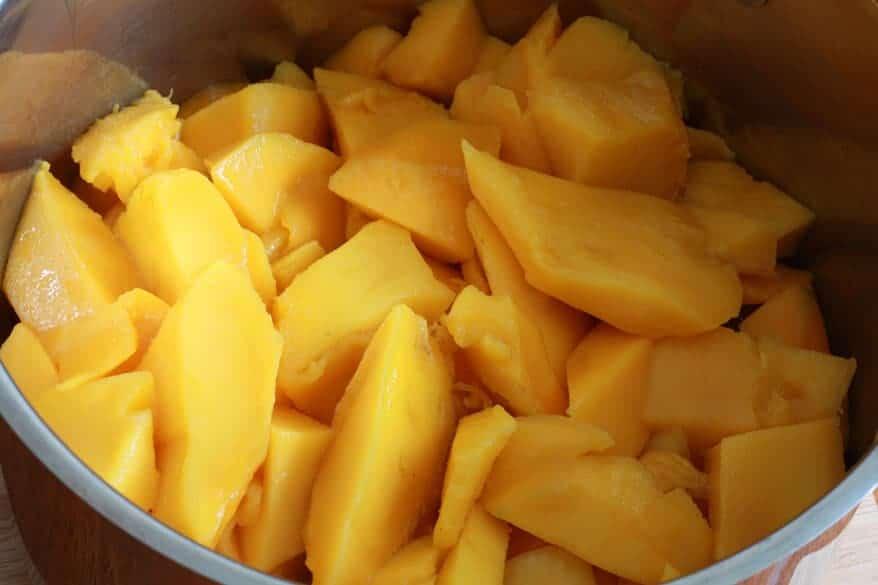 Mango Chutney prep 8