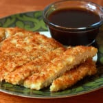 Crispy Panko Chicken With Apricot Dipping Sauce