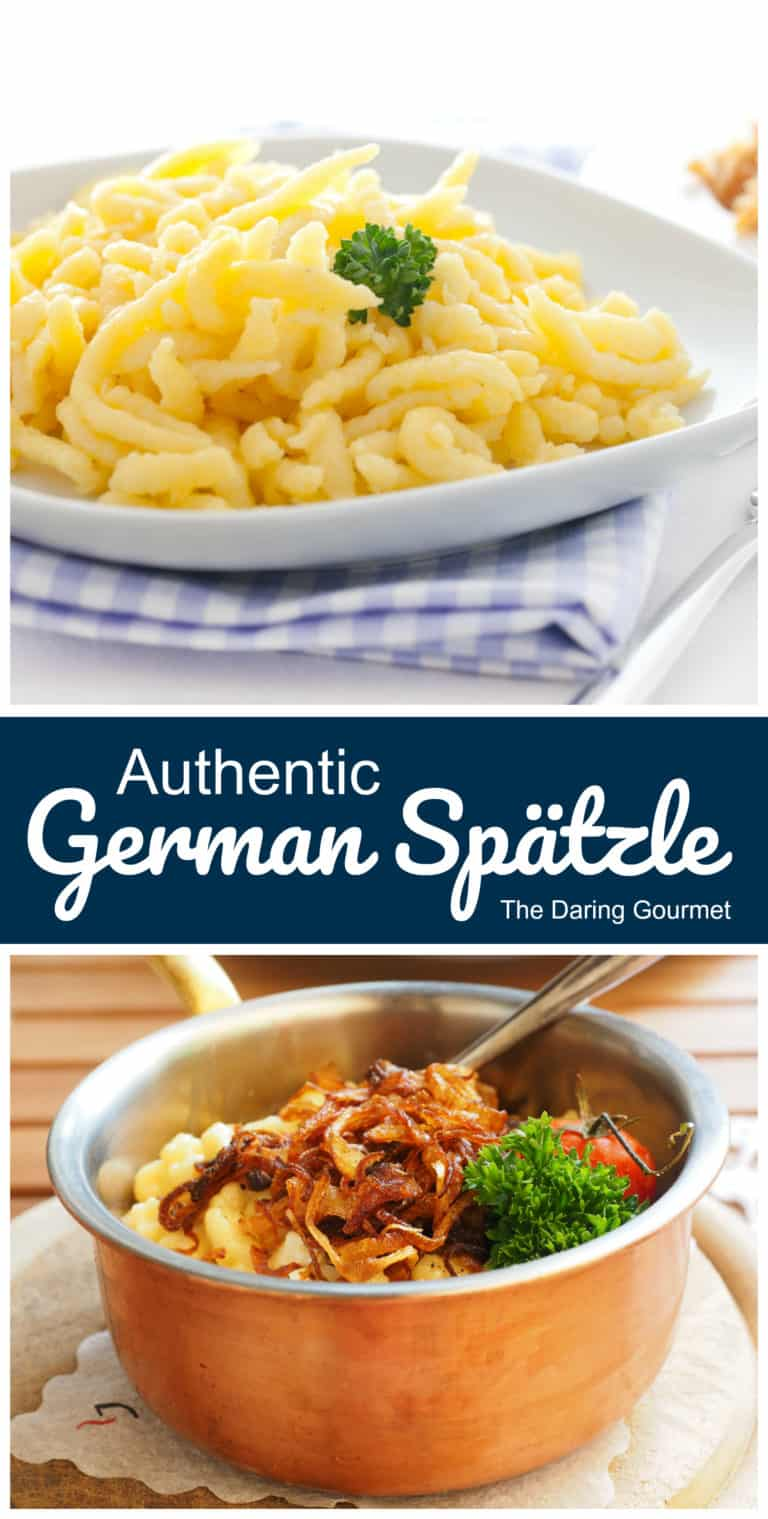 spaetzle recipe best authentic traditional German