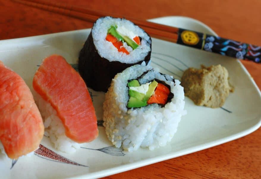 Sushi prep 11