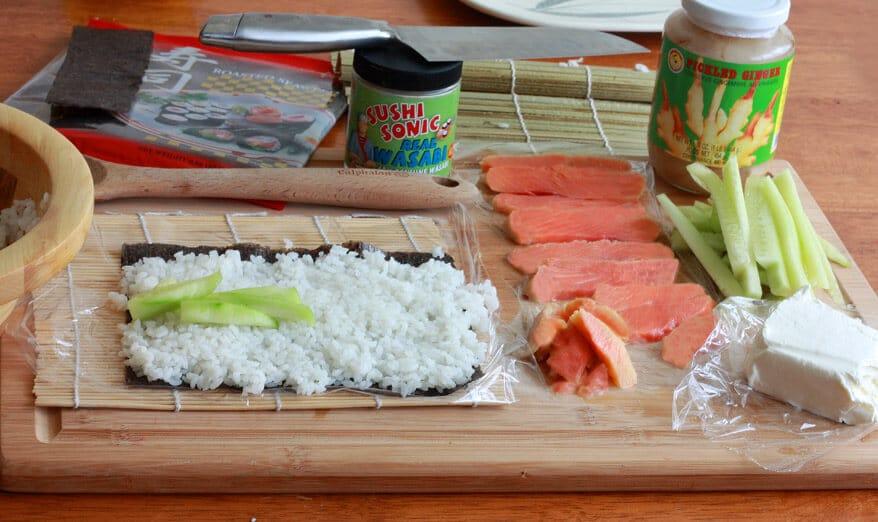 Sushi prep 3