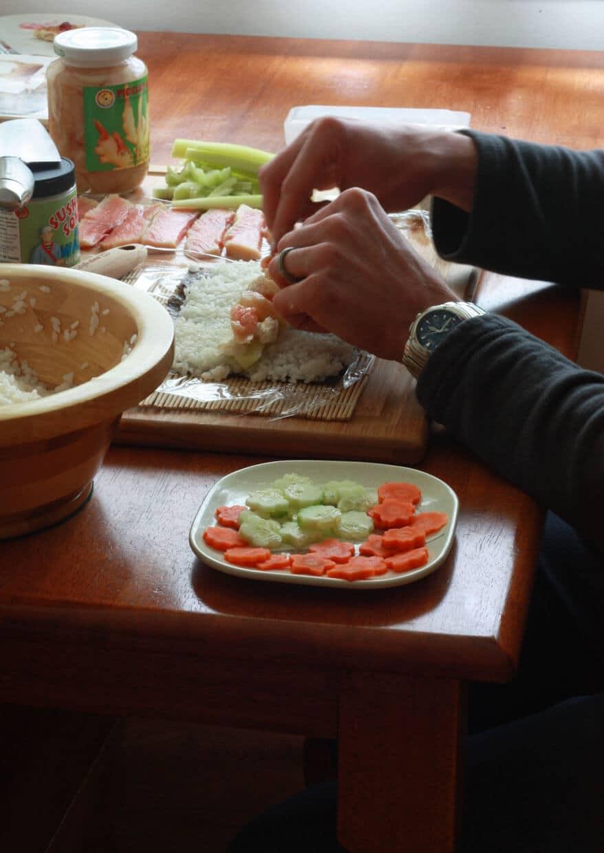 Sushi prep 6