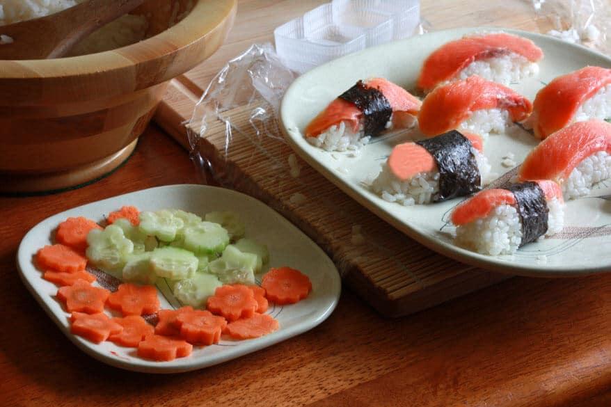 Sushi prep 7