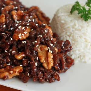 chinese honey glazed beef walnuts recipe authentic traditional